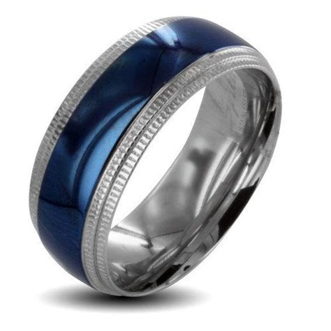 walmart mens silver spinner wedding bands west coast