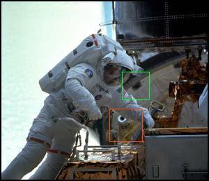 telecamera e perni