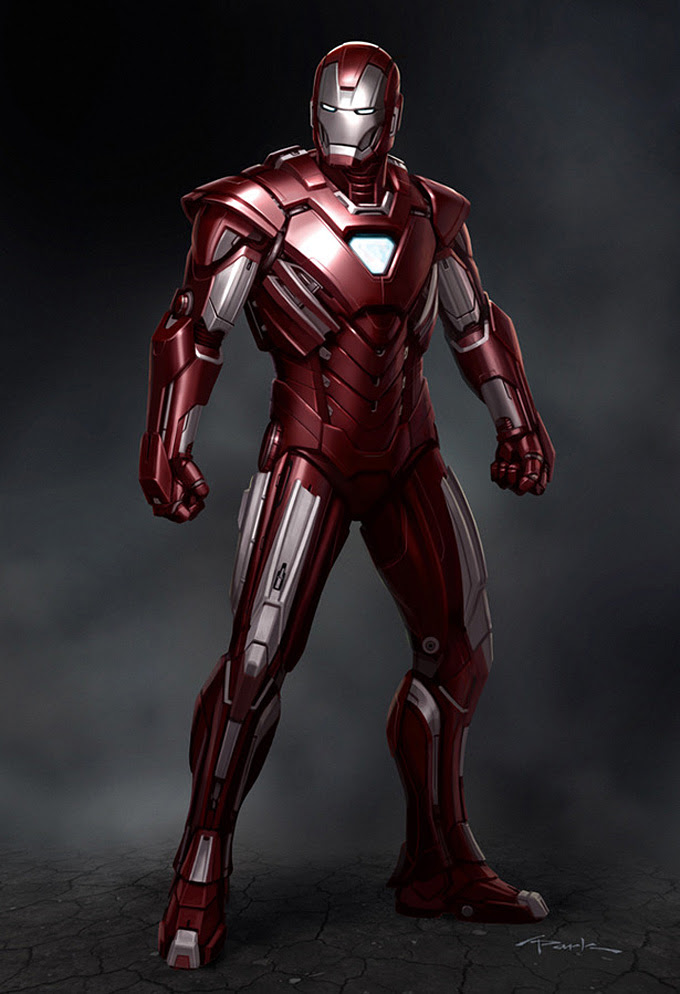 Iron Man 3 Armor Concept Designs By Andy Park Concept Art World