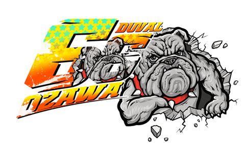 stiker racing keren  duval ozawa bulldog firedpen