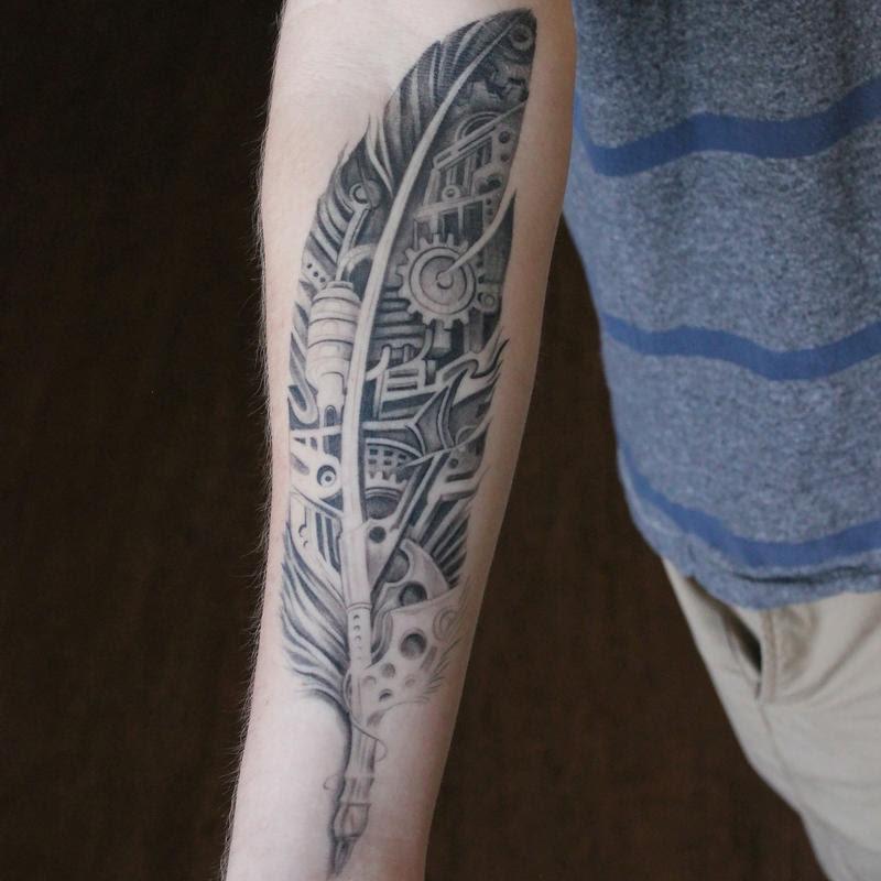 Cap1 Tattoos Tattoos Nature Animal Healed Black And Grey Bio
