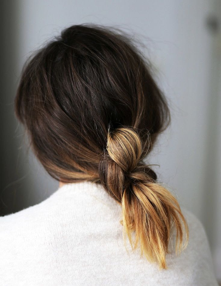 Le Fashion Blog Hair Inspiration How To Low Knotted Knot Ponytail Ombre Hair Color White Sweater Via Love Shop Share photo Le-Fashion-Blog-Hair-Inspiration-How-To-Low-Knotted-Knot-Ponytail-Ombre-Hair-Color-White-Sweater-Via-Love-Shop-Share.jpg