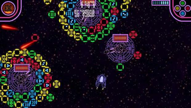 PlayStation mini Stellar Attack doesn't look half bad screenshot