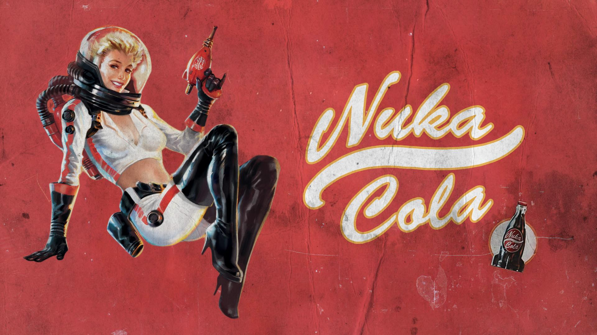 Fixed Up The Nuka Girl Pinup Wallpaper Fo4