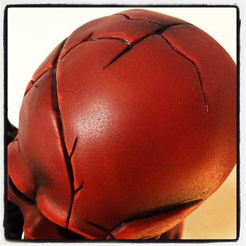 Red Skull last teaser ;) #helllotus #vinyltoy #redskull #villain #marvel #customtoy