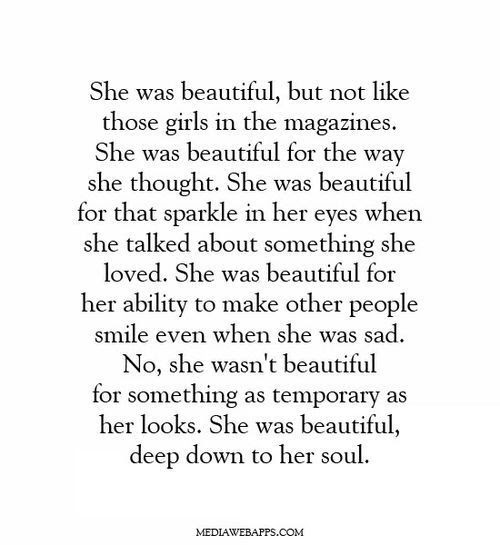 Quotes Soul Smile Inner Beauty True Beauty Silly Luv