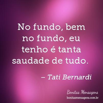 Frases De Amor Familia Tati Bernardi Mensagens Poemas Poesias