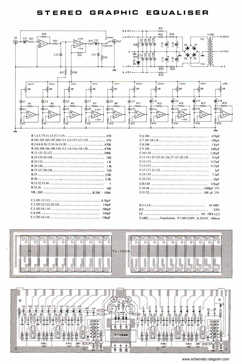 Layout skema equalizer 40ch circuit diagram images layout skema equalizer 40ch 5 band graphic equaliser c2 b7 band stereo graphic equaliser cheapraybanclubmaster Gallery