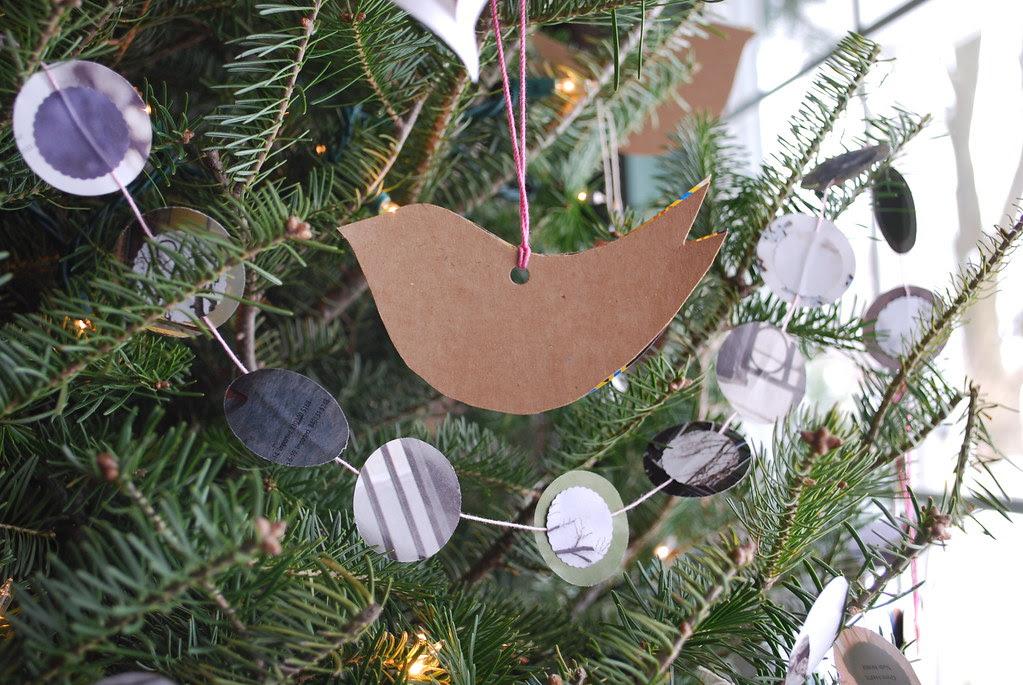 Handmade Christmas tree.