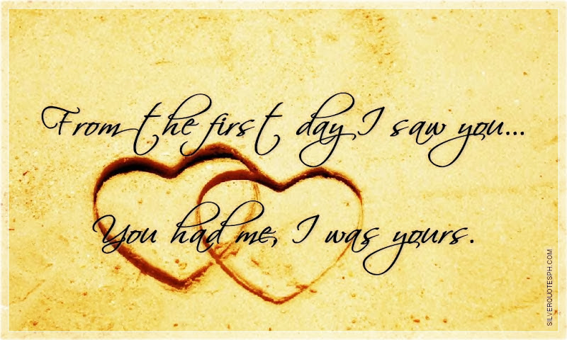 Quotes About First Time I Saw You 56 Quotes