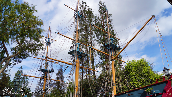Disneyland Resort, Disneyland, Sailing Ship Columbia