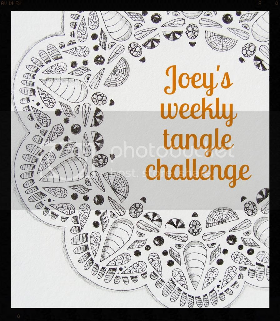 Monday's weekly tangle challenge