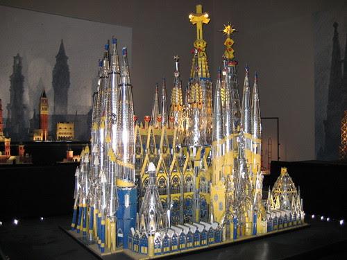 La tour en jeu: La Sagrada Familia