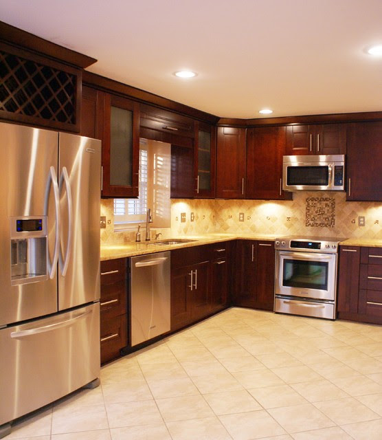 Small Kitchen Makeover  Modern  Kitchen  atlanta  by Atlanta Legacy Homes, Inc.