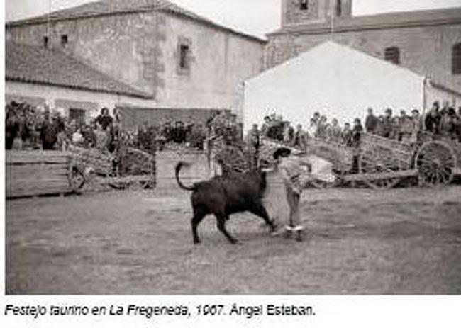 Una de la imágenes que se pueden contemplar en Cantalejo.