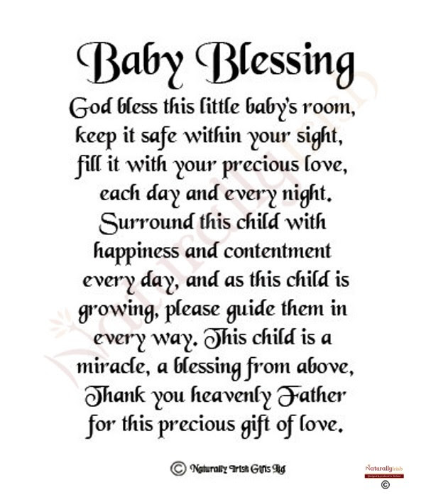 Baby Girl Blessing Quotes Quotes