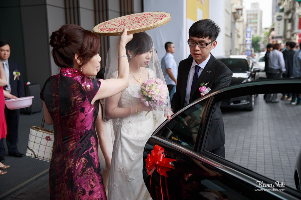 台北晶華酒店-婚禮攝影-迎娶儀式