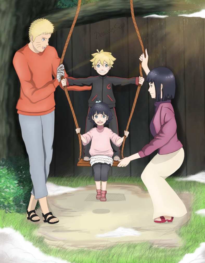 Naruto And Hinata Family Naruto Shippuuden Fan Art 39927073 Fanpop Page 2
