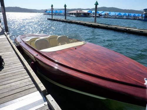 this wood v bottom runabout boat 505 hp boats planes ronsussercom