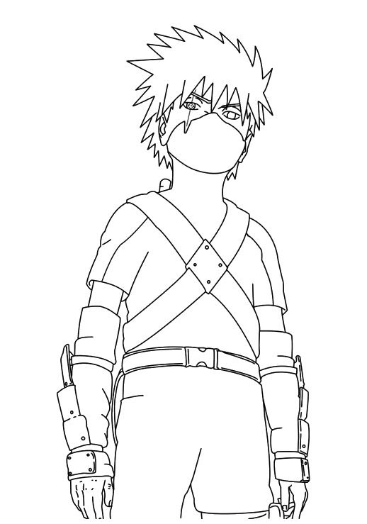 Naruto Outline Drawing at GetDrawings | Free download