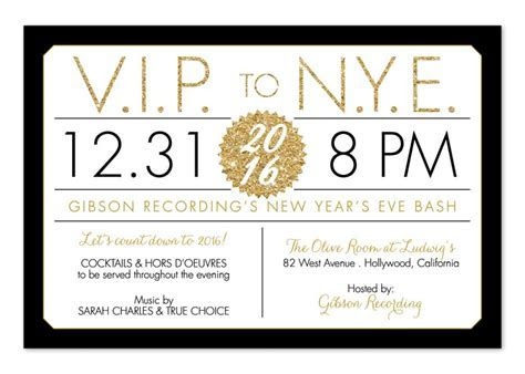 Funny New Years Eve Party Invitation Wording