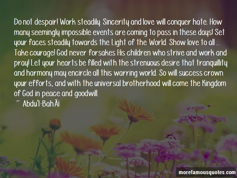 Love Will Conquer Quotes Top 34 Quotes About Love Will Conquer From