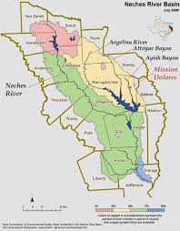 in the Neches River Basin,