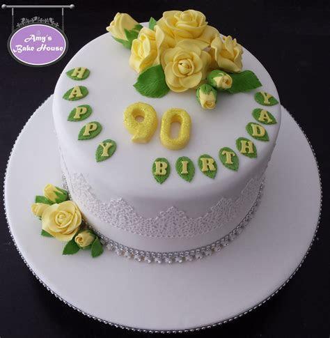 90th Birthday Cake   Amy's Bake House