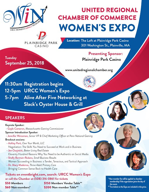 URCC Women's Expo at Plainridge Park Casino - Sep 25