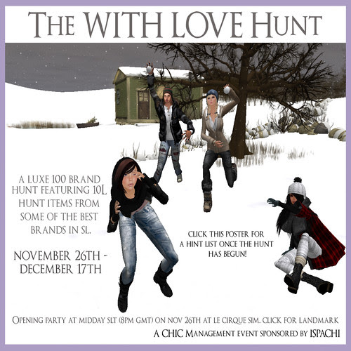 The With Love Hunt (Poster) copy