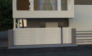 Custom Front Gate Designs From Ameradnan Associates