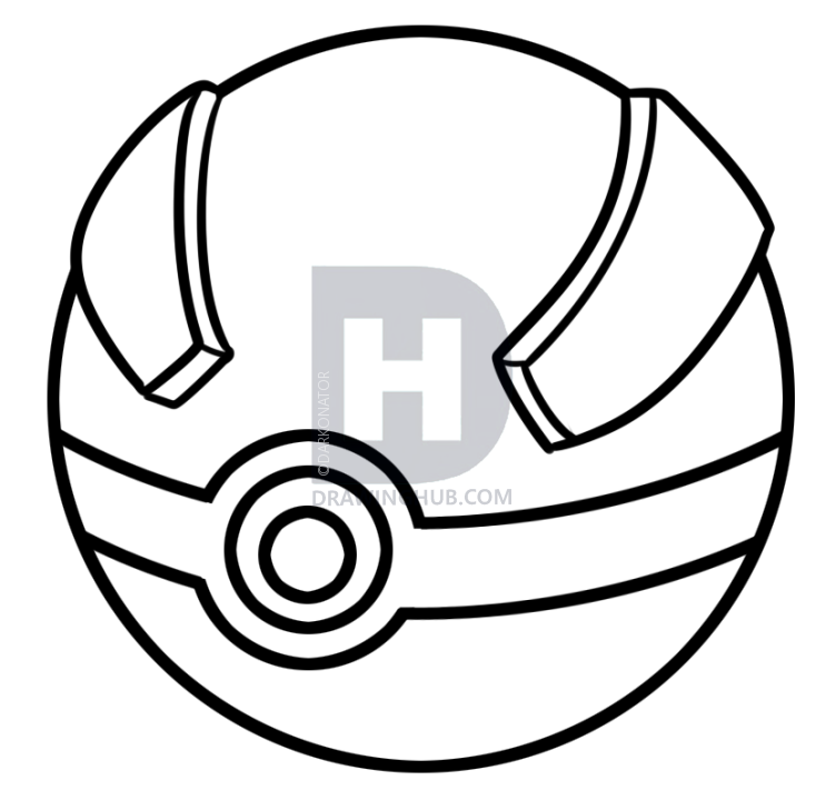 62 Coloring Pages Pokemon Ball Download Free Images
