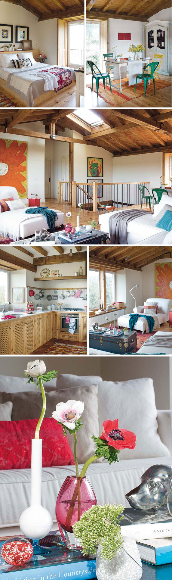 Summer Cottage Decorating Ideas: colors and wood | Modern Interiors