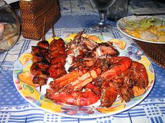 Seafood Buffet at Sea Wind Resort, Boracay