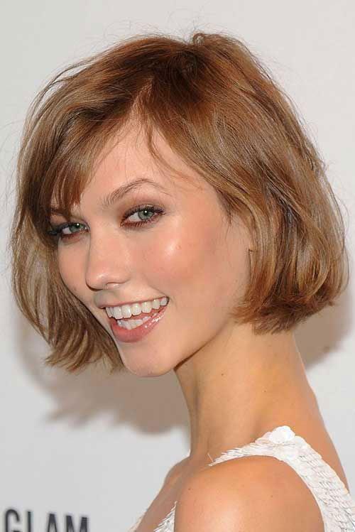 Cute Short Haircuts Fine Hair with Bangs