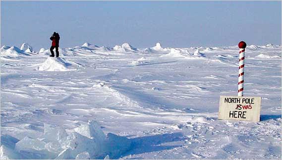 Ex-marco do polo norte