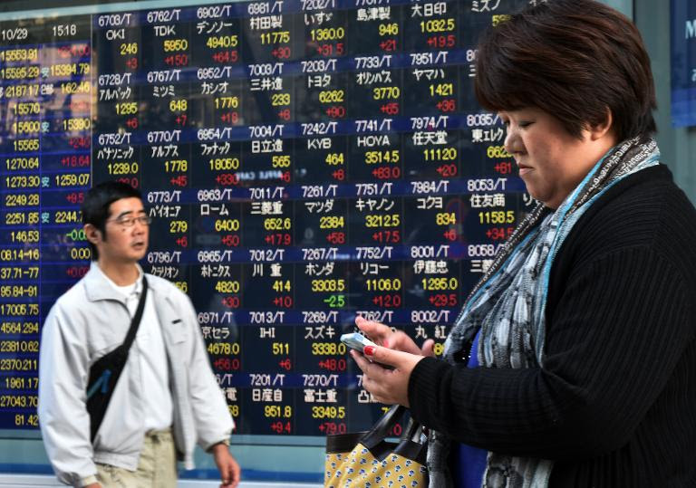 Asia shares rally after US growth figures