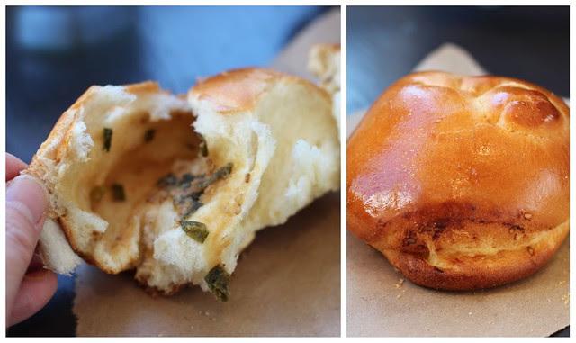 Sandbox Bakery - San Francisco, Negi-Miso Kashi Pan