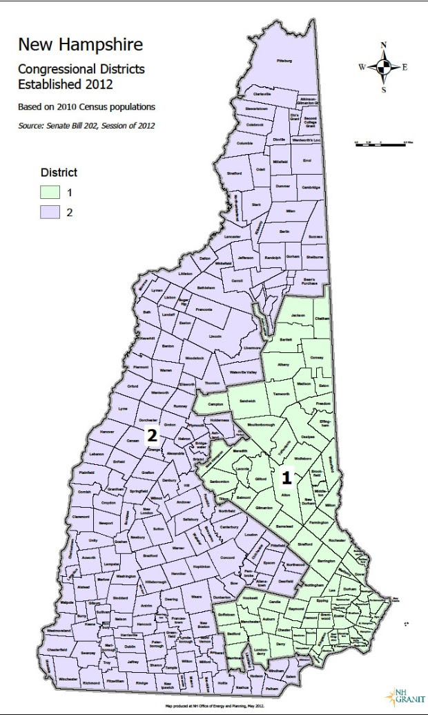Eleven Maps That Explain New Hampshires Political Geography
