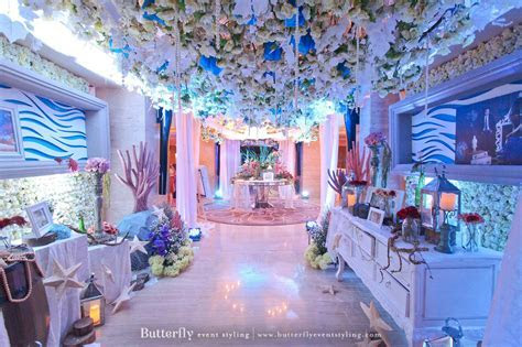 Underwater Empire   Butterfly Event Styling