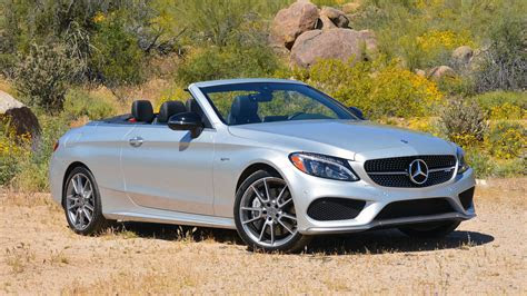 mercedes amg  cabriolet review  middle