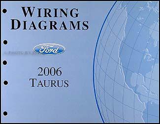 2006-2007 Ford Taurus Wiring Diagrams Manual Original OEM ...