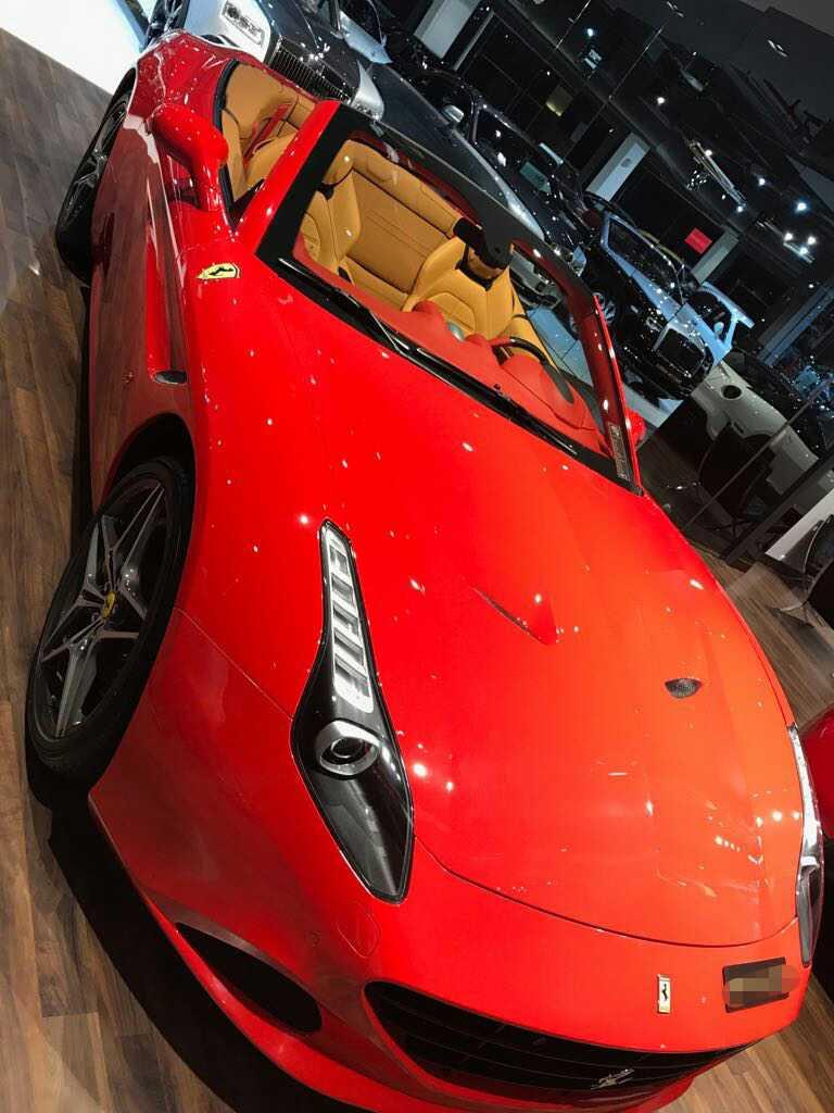 Rent Ferrari California Dubai - Sports Cars Rental Dubai ...