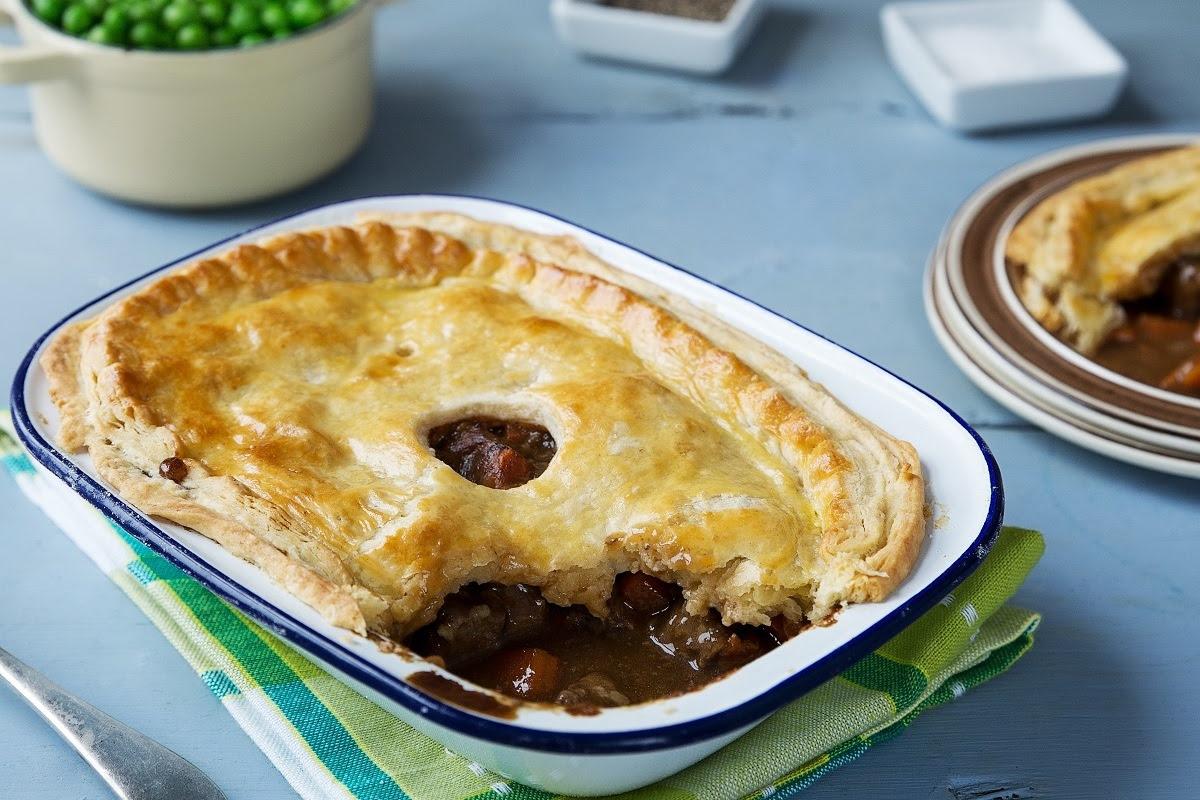 Beef & Guinness Pie Recipe | Odlums