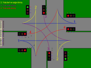 Báo hiệu giao thông với 89C51RC2 PLCC