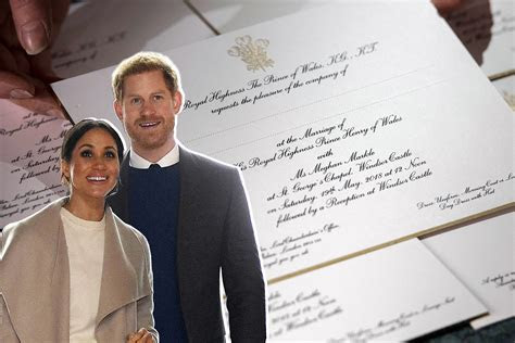 Royal Wedding: How Much the Invitations Cost   Money
