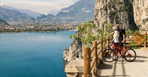 Pista ciclabile del Lago Garda