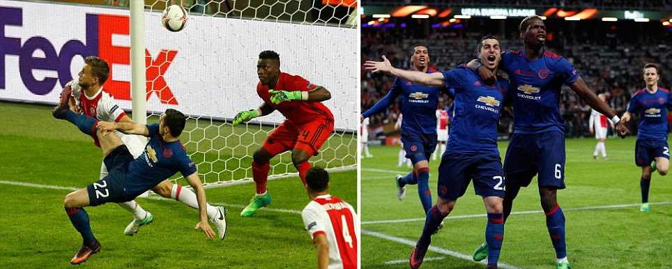 Europa League final LIVE score: Manchester United vs Ajax