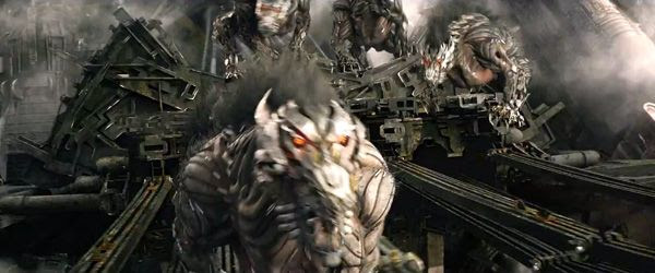 Decepticon creatures are on the prowl in TRANSFORMERS: AGE OF EXTINCTION.