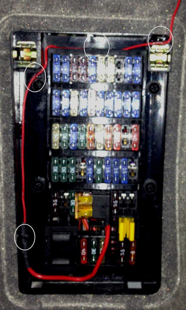 Porsche Boxster 986 Fuse Box Location - Wiring Diagram